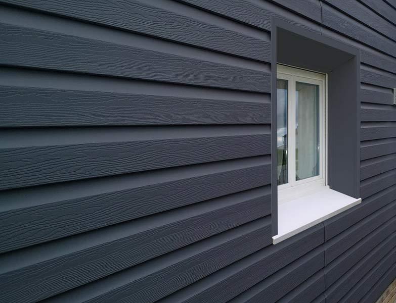 Bardage : La menuiserie SOULARD votre spécialiste en bardage zinc, acier et bois. Il permet de protéger durablement votre habitation tout en l'habillant.