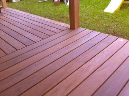 Terrasse - La menuiserie SOULARD : Nous vous conseillons dans le choix du type de bois et de la technique de pose de votre future terrasse.