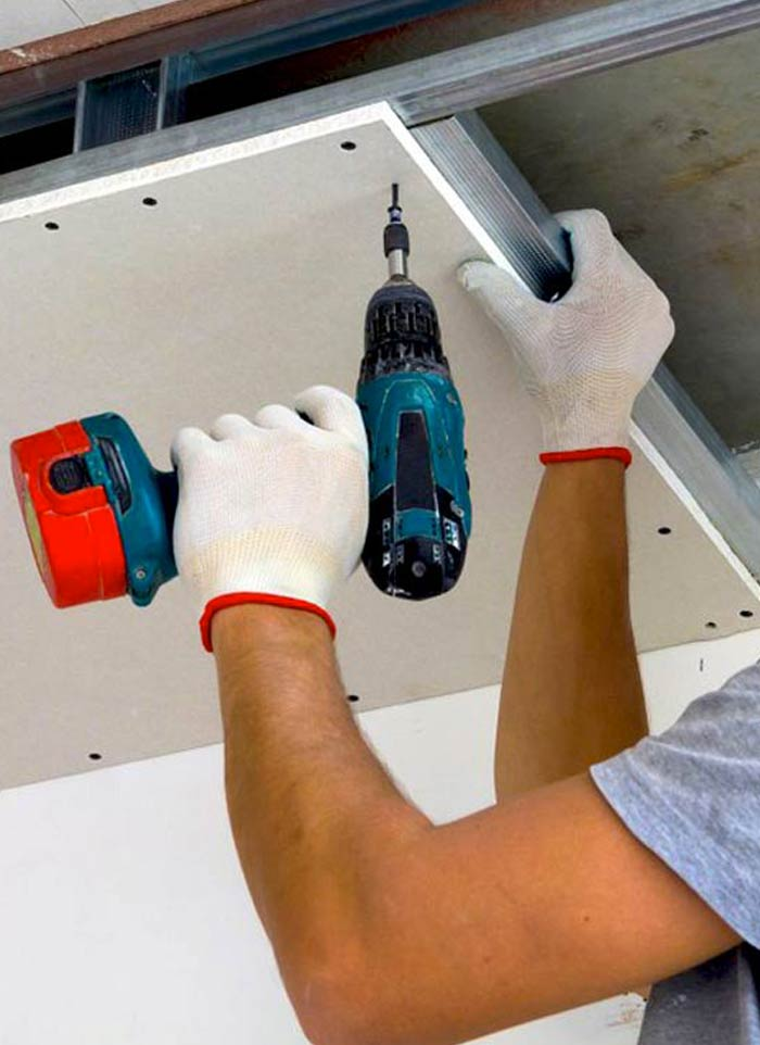 Cloisons intérieure : La menuiserie SOULARD votre  expert plaquiste dans le cap-sizun. Pose de cloisons sèches. plaques de plâtre et placo. faux plafond ...